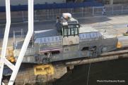 Canal de Panama - Mule écluse de Miraflores