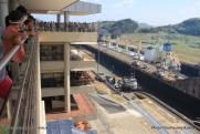 Canal de Panama - écluse et visitor center de Miraflores