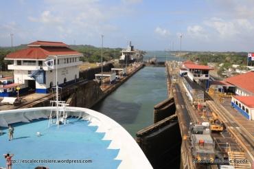 Canal de Panama - écluses de Gatun