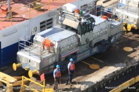 Canal de Panama - Mule écluses de Gatun
