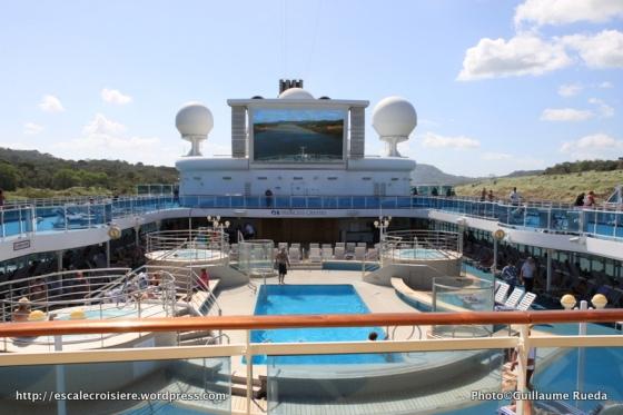 Canal de Panama - Ecran géant