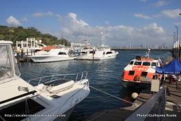 Canal de Panama - Flamenco Marina