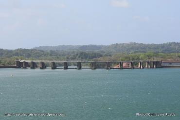 Canal de Panama - Barrage du lac Gatun