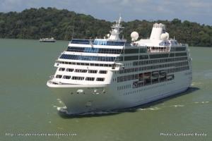 Canal de Panama - Pacific Princess - Lac Gatun