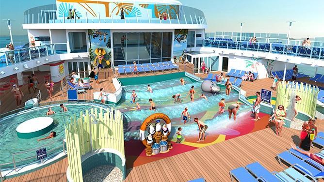 H2O zone - Quantum of the Seas - piscine