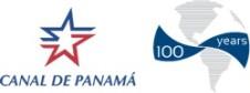 Logo Canal de Panama - 100 ans