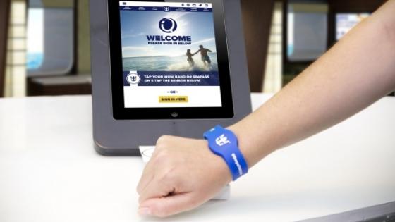 Quantum of the Seas - Bracelet RFID