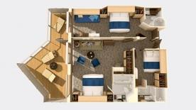 Quantum of the Seas - cabines communicantes