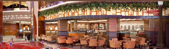 Quantum of the Seas - Café Promenade