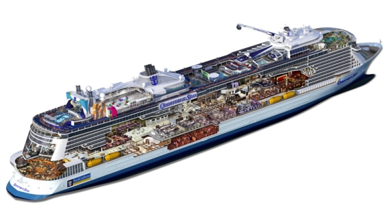 Quantum of the Seas - Ecorché