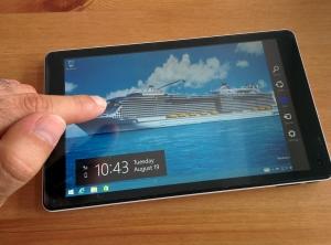 Quantum of the Seas - tablette équipages