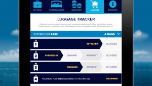 Quantum of the Seas - tracking bagages