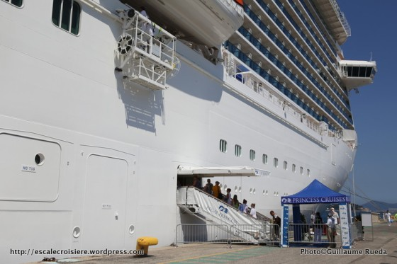 Regal Princess - Embarquement