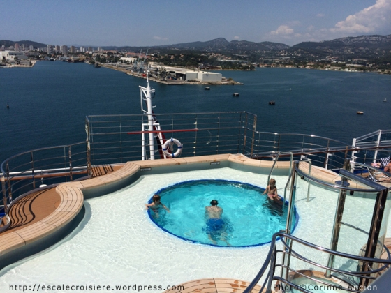 Regal Princess - Piscine Terrace pool