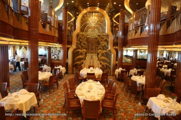 Queen Elizabeth - Britannia Restaurant