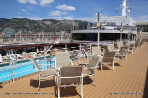 Queen Elizabeth - Piscine centrale - Pavilion pool