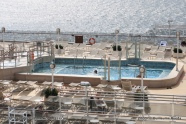 Queen Elizabeth - Piscine arrière Lido pool