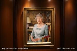 Queen Elizabeth - Tableau de la marraine