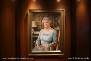 Queen Elizabeth - Tableau de la marraine