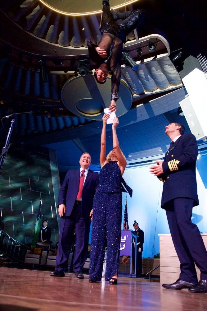 2014-11-10 - Quantum of the Seas - Cérémonie de baptême à New York