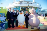 2014-11-10 - Quantum of the Seas - inauguration de l'expérience Dreamworks
