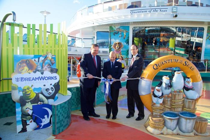 2014-11-10 - Quantum of the Seas - inauguration de l'expérience Dreamworks