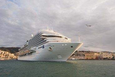 Costa Diadema - arrivée à Gênes 2014-11-07