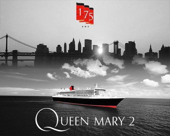 Croisière thématique Queen Mary 2 - cunard 175