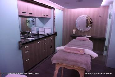 Le Boréal - salle de massage