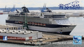 Voeux 2014 - Escale Croisière - Celebrity Cruises