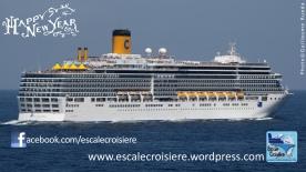 Voeux 2014 - Escale Croisière - Costa Croisières