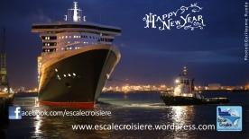 Voeux 2014 - Escale Croisière - Cunard