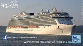 Voeux 2014 - Escale Croisière - Princess Cruises