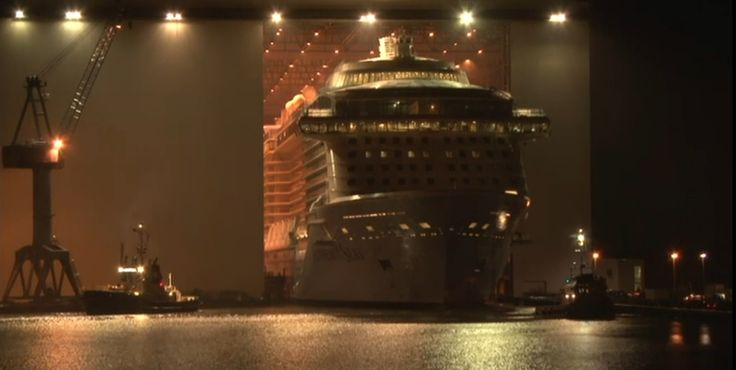 2015-02-21 Anthem of the Seas - sortie chantier Meyer Werft