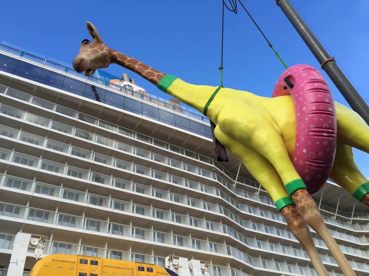 Anthem of the Seas - Girafe