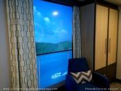 Cabine avec balcon virtuel