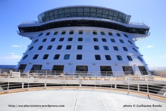 Quantum of the Seas - passerelle