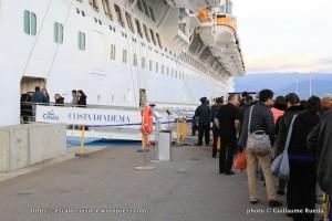 Costa Diadema - Embarquement