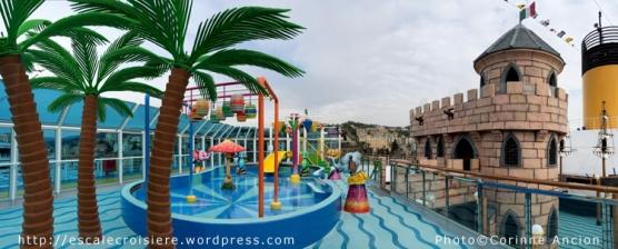 Costa Diadema - espaces enfants