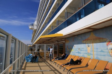 Costa Diadema - Pont 5 terrasse promenade
