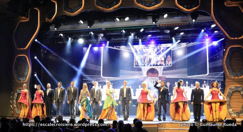 Costa Diadema - Theatre Emerald