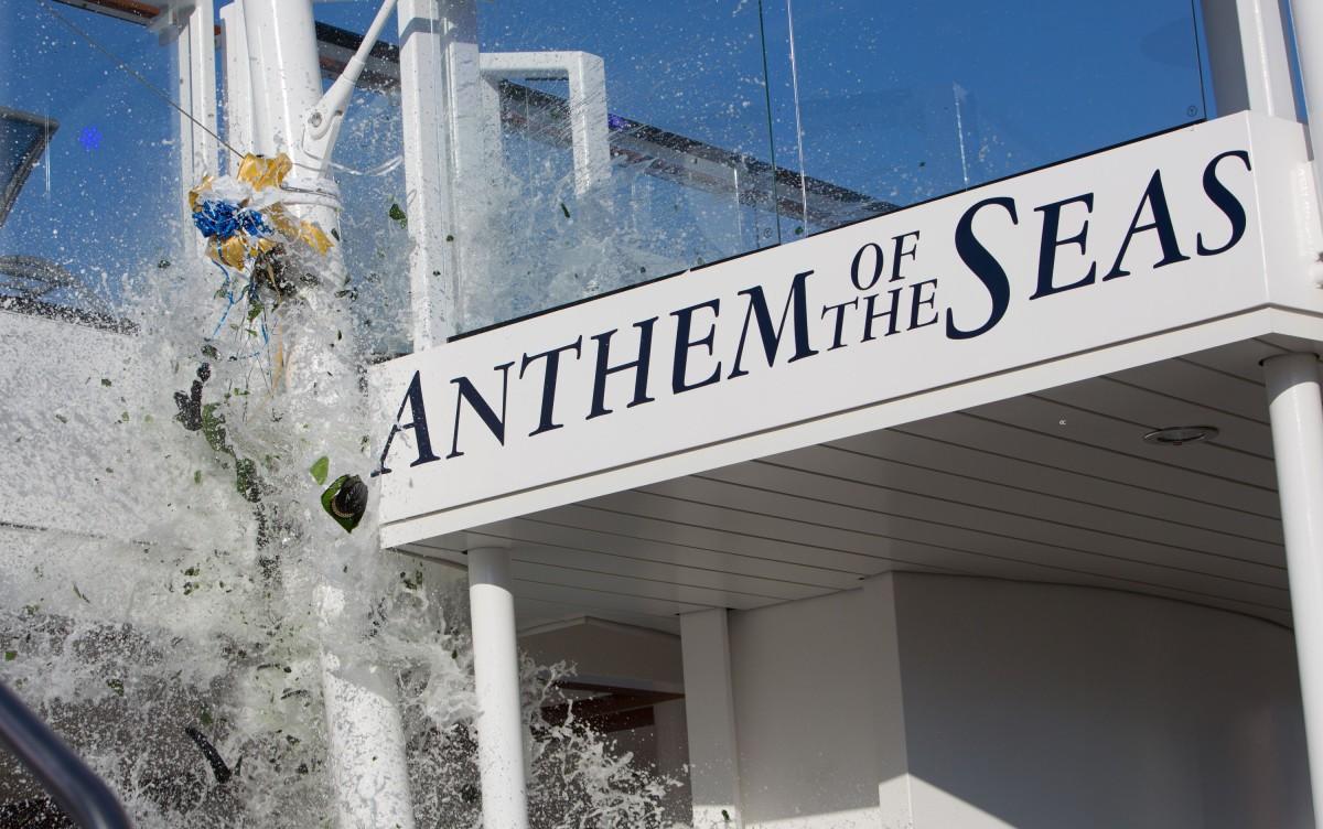 Anthem of the Seas - Départ de la croisière inaugurale depuis Southampton