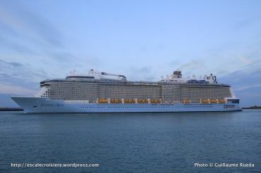 Anthem of the Seas - Escale inaugurale - Le Havre