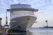 MSC Splendida - Escale inaugurale - Le Havre