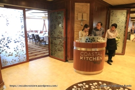 Anthem of the Seas - Coastal kitchen