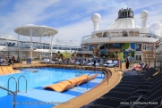 Anthem of the Seas - piscine extérieure