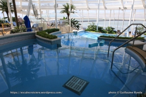 Anthem of the Seas - Piscine intérieure