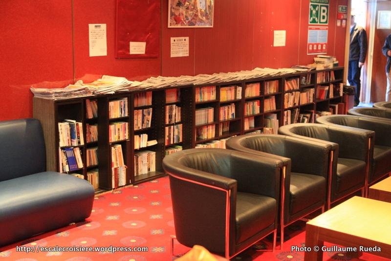 Ocean Dream - Peace Boat - Bibliothèque et jeux