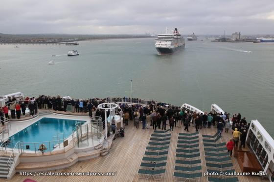 175 ans Cunard - Queen Mary 2 - Queen Victoria