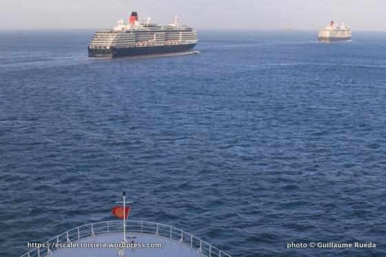 175 ans Cunard - Queen Mary 2 - Queen Victoria - Queen Elizabeth